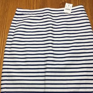 J Crew  pencil skirt. Lined. NWT size 2.